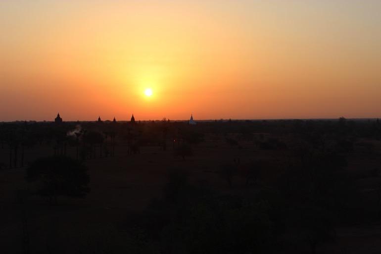 sunset Bagan Myanmar