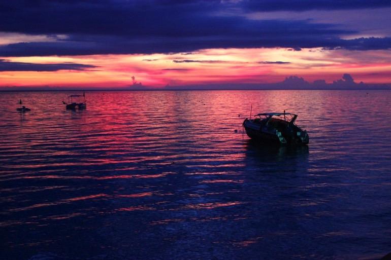 sunset Koh Tao Thailand