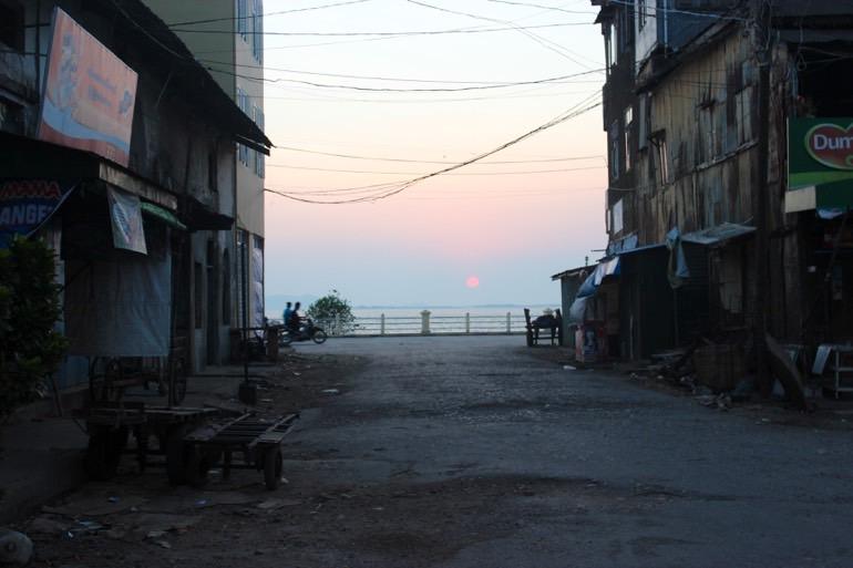 sunset Mawlamyine Myanmar