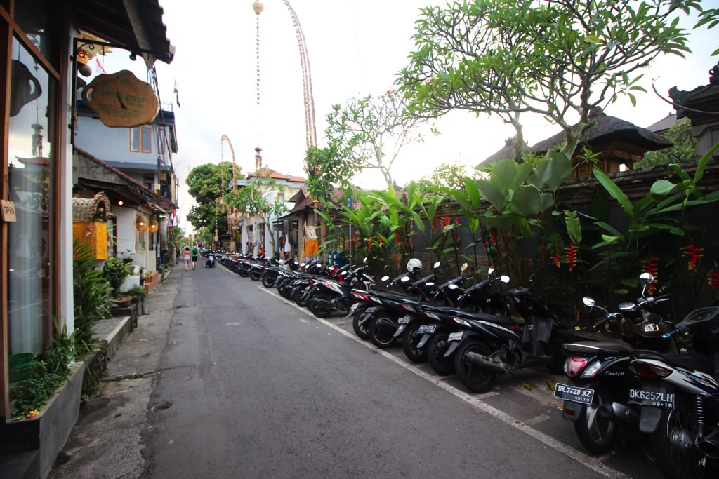 scooters Ubud Bali