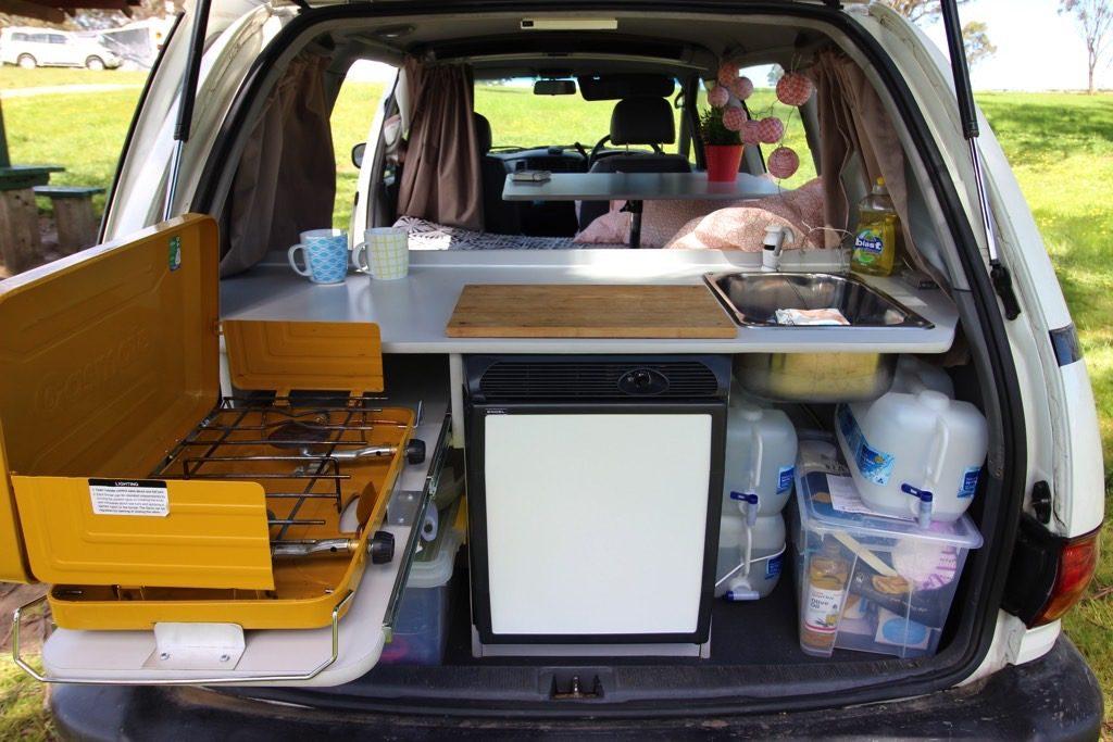 kitchen minivan