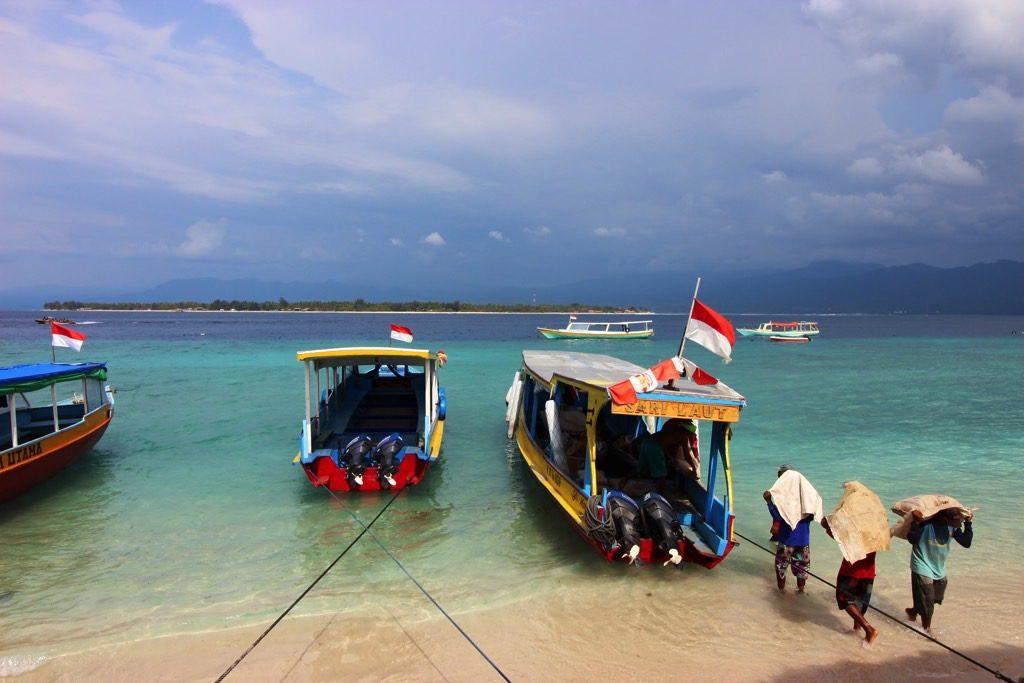 Boats Gili Meno