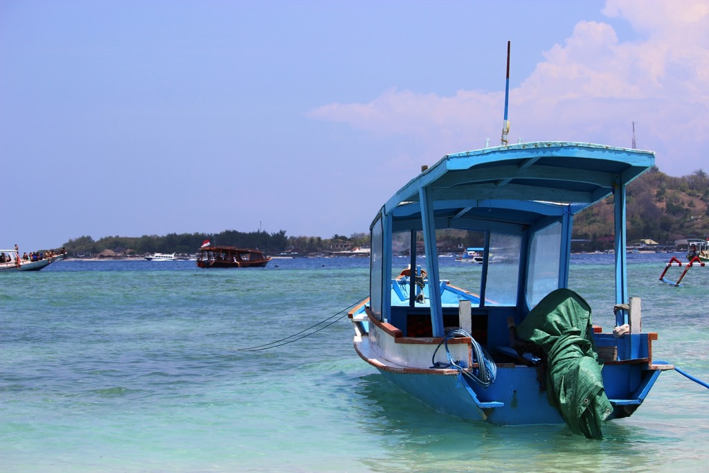 Boat Gili Islands