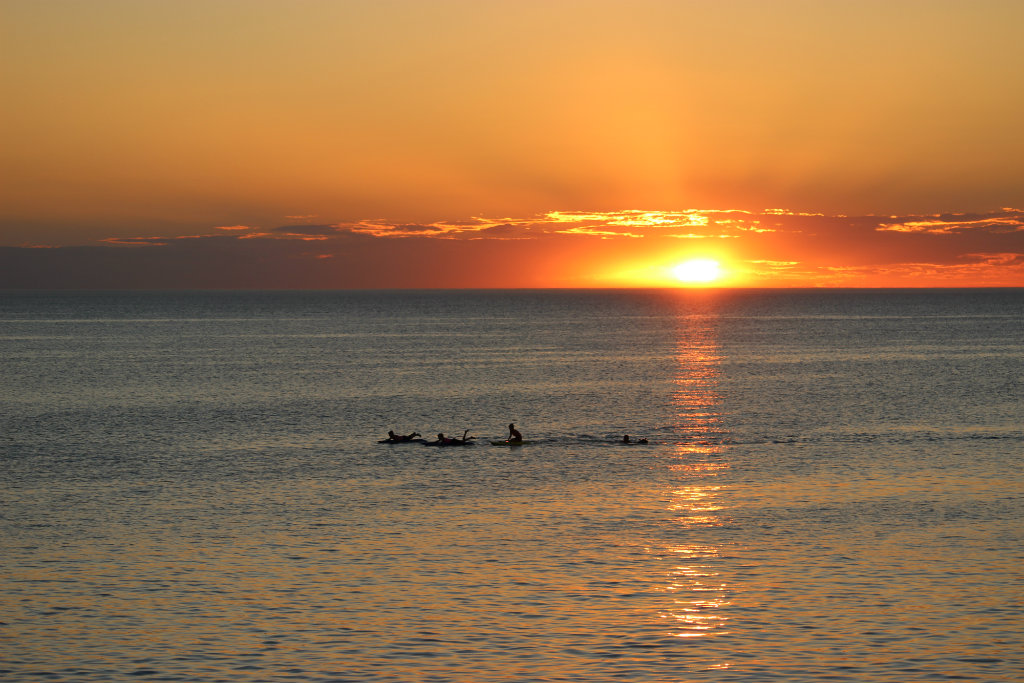 Henley Beach, Sunset, Adelaide