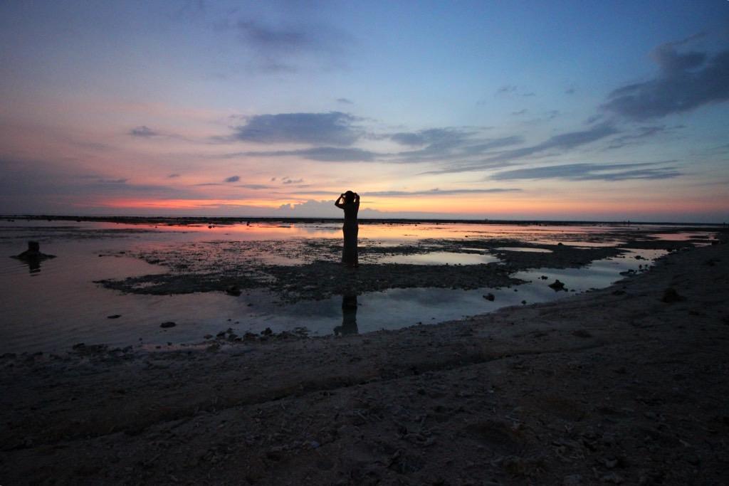Sunset Gili Trawangan, Budget Gili, awesome sunset