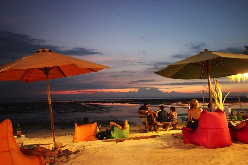Budget Gili, Sunset, Gili Trawangan, Sunset Beach