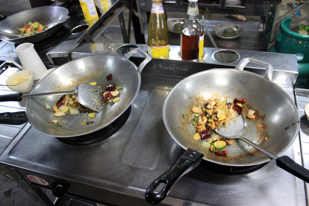 reizen door Thailand, Thai food, Chiang Mai, kookworkshop Chiang Mai