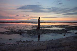 coming home, sunset Gili Trawangan