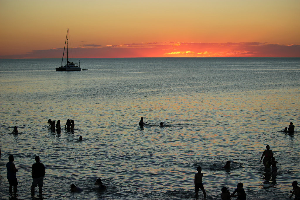 Henley Beach, sunset