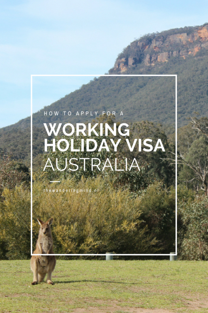 travel tips australia how to get a working