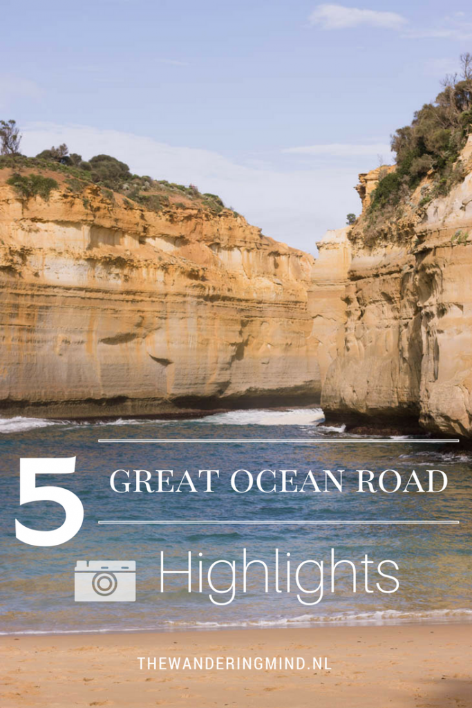 Vijf hoogtepunten langs de Great Ocean Road