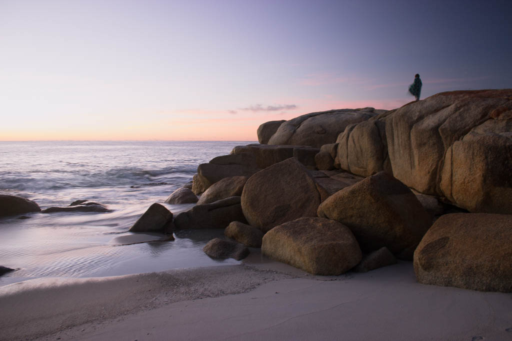 Zonsopkomst Bay of Fires