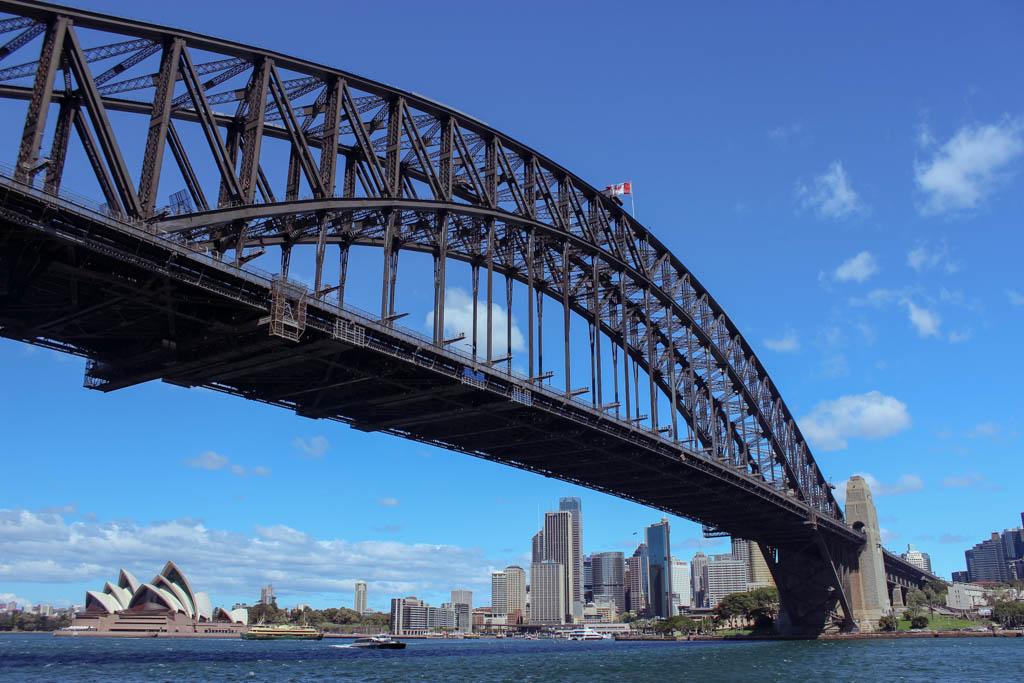 Australia | Sydney | New South Wales | Sydney Harbour Bridge | Zuid-Australië | Zuidoosten van Australië