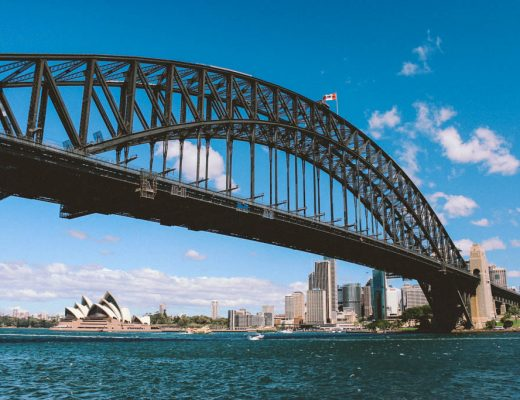 Australia | Sydney | New South Wales | Sydney Harbour Bridge | Zuid-Australië