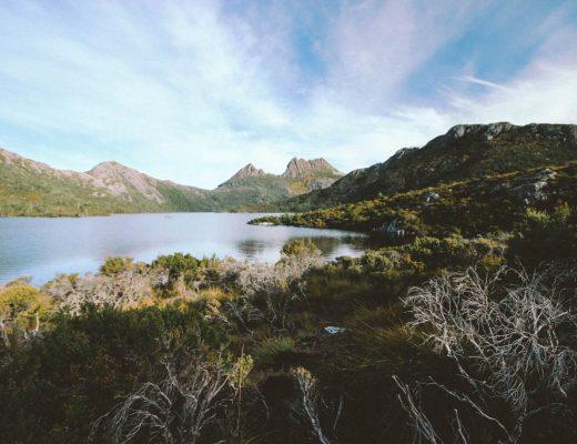 route door Tasmanië