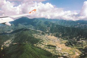 Nepal | AirAsia | airplane | sky