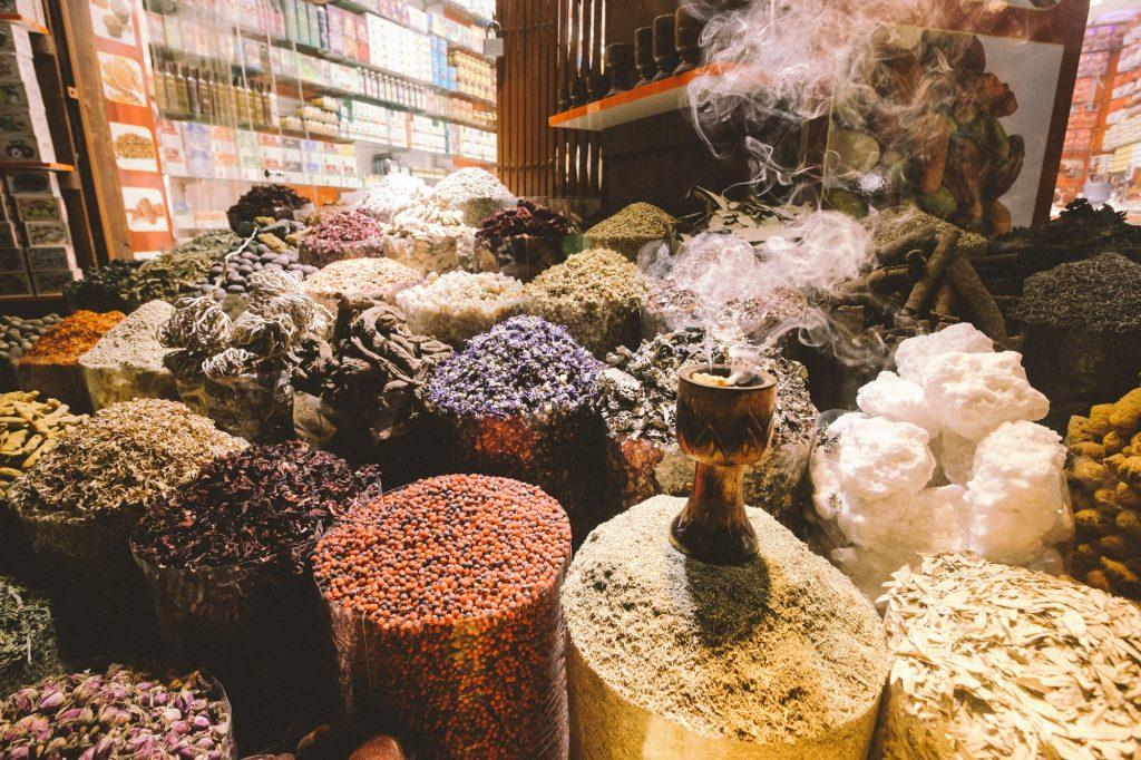 Spice Souk Dubai | Dubai | één dag in Dubai | Highlights | Verenigde Arabische Emiraten | route Dubai