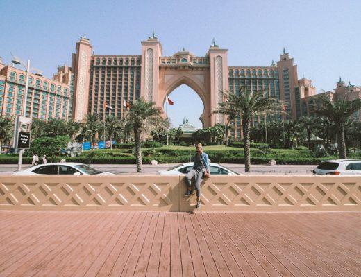 Atlantis The Palm Hotel Dubai   Highlights Dubai   Monorail Palm Jumeirah   Dubai   één dag in Dubai