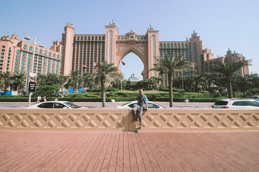 Atlantis The Palm Hotel Dubai | Highlights Dubai | Monorail Palm Jumeirah | Dubai | één dag in Dubai