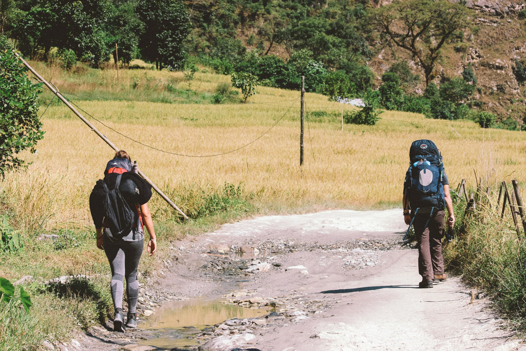 Nayapul | Hiken | Ghandruk | ABC | Nepal
