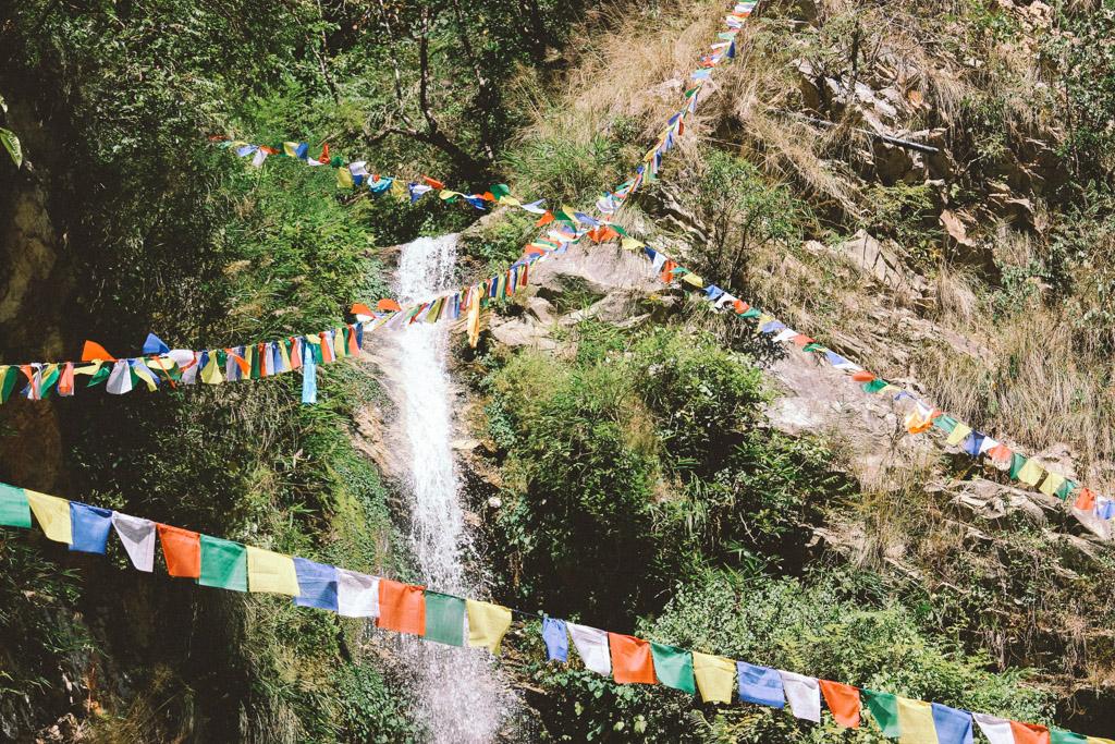 Waterfall | Nayapul | Himalaya | Nepal