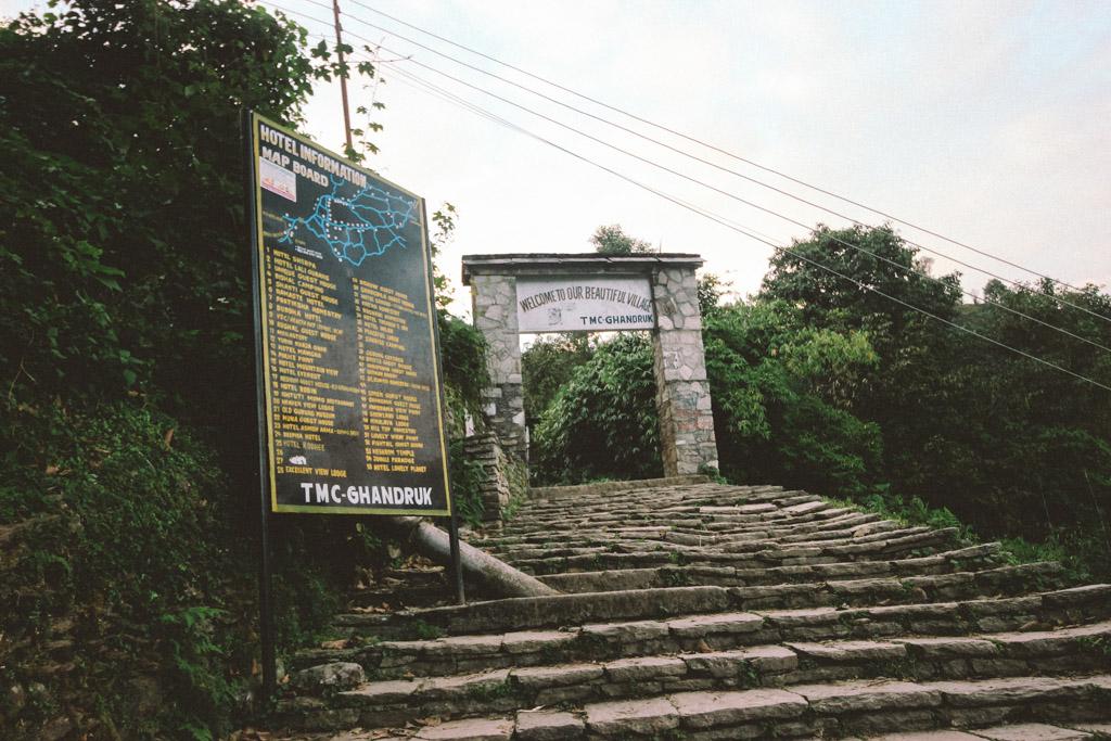 Hiking | ABC | Day 1 | Nayapul | Ghandruk | Himalaya