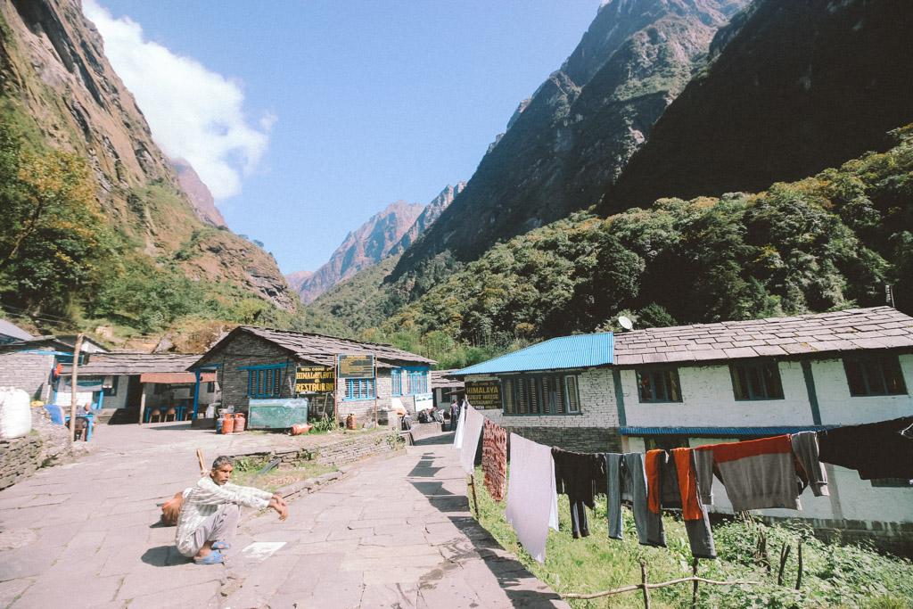 Himalaya   Village   Nepal   ABC   Annapurna