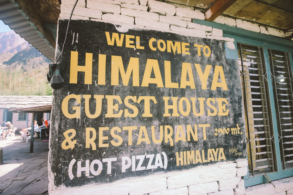 Himalaya   Nepal   ABC   Hiking   Trekking