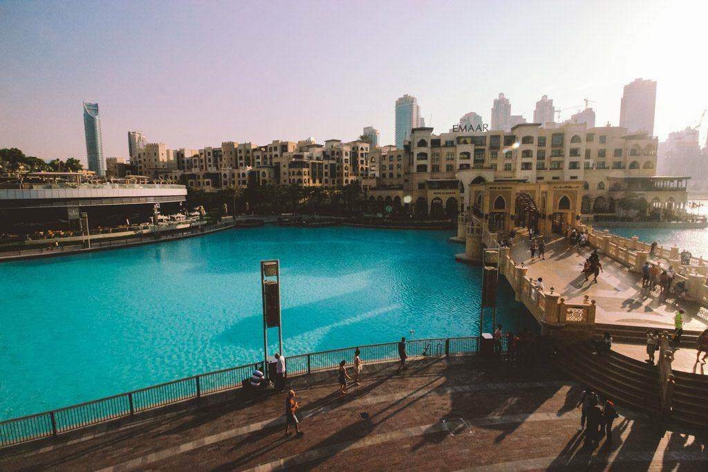 Souk Al Bahar Bridge | Dubai | Dubai Mall | Burj Khalifa