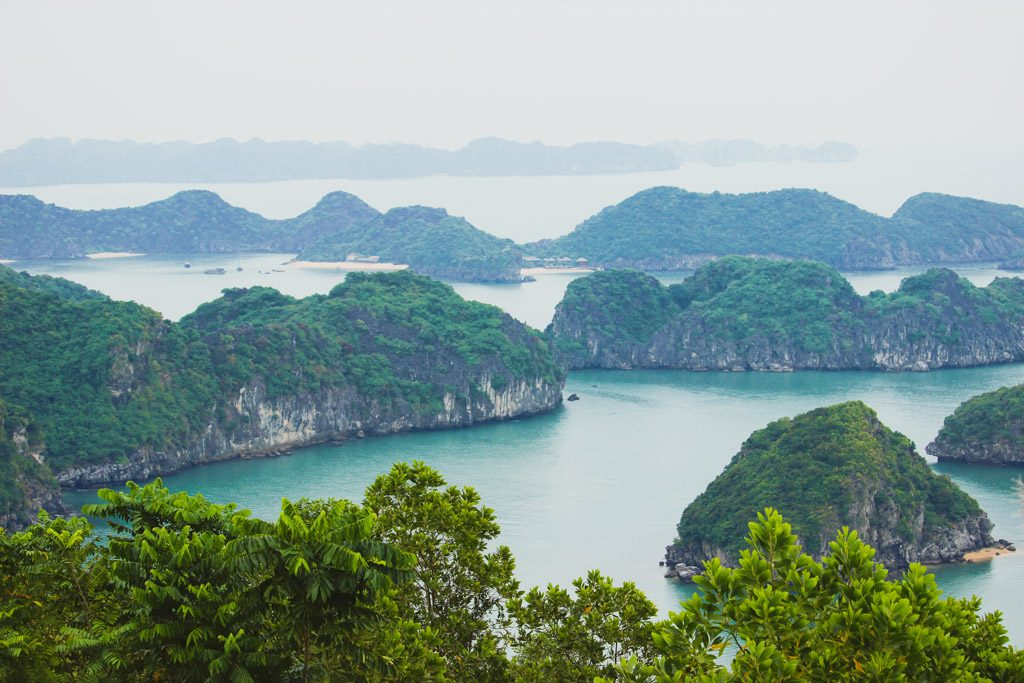Cannon Fort | View | Cat Ba Town | Cat Ba Island | Halong Bay | Vietnam
