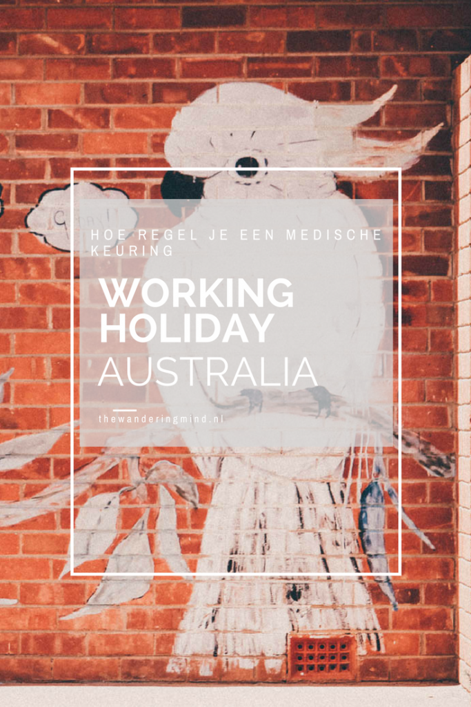 medische keuring working holiday visum australia
