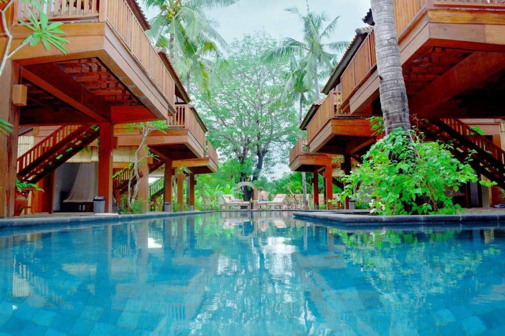 Hotel Villa Bagus | Gili Meno | Gili eilanden | Indonesië,