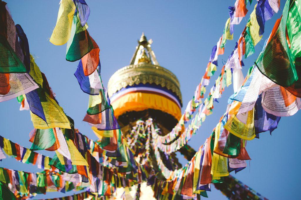 Nepal   Kathmandu   Prayer Flags
