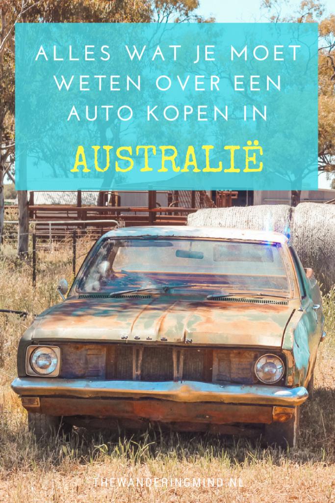 Een auto kopen in Australië | backpackers | roadtrip | Australië
