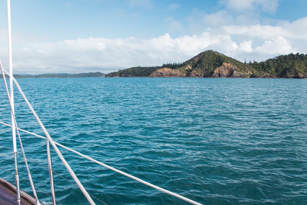 zeilen | Bay of Islands | Paihia | She's a Lady | Stingray Cove | Nieuw-Zeeland