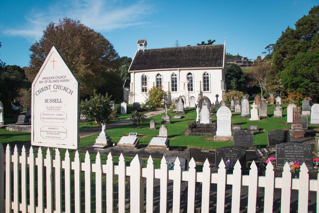oudste kerk | Nieuw-Zeeland | Russell | Bay of Islands