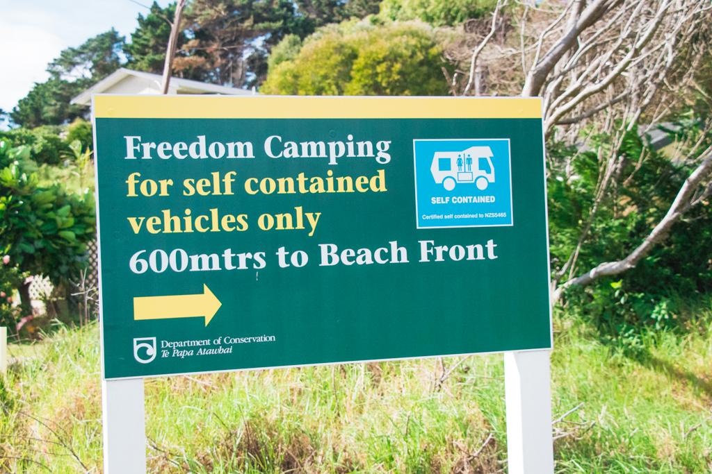 Freedom camping | Nieuw-Zeeland