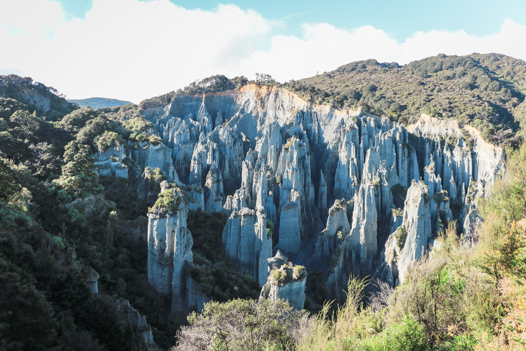 Putangirua Pinnacles | Lord of the Rings | Noordereiland | Nieuw-Zeeland | Cape Palliser