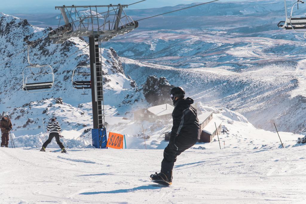 Snowboarden Mount Ruapehu   Noordereiland   Nieuw-Zeeland   Noordereiland highlight
