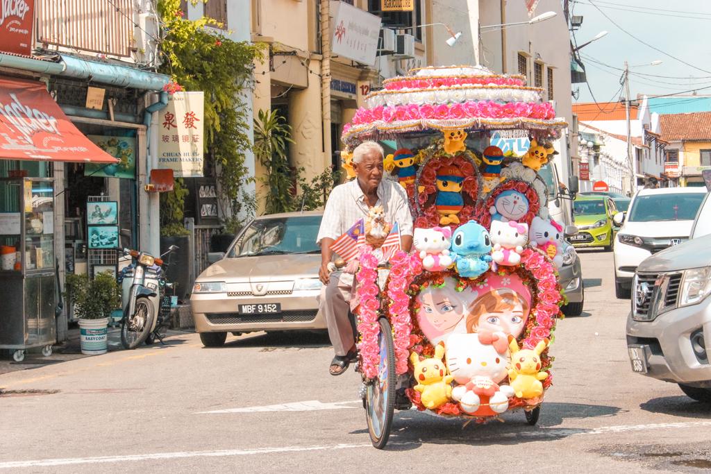 Trishaw | Rode Plein Melaka | Doen in Melaka | Dutch Square | Bezienswaardigheden Melakka | Melaka | Malakka | Malacca | Maleisië | Rondreis Maleisië | Zuidoost-Azië