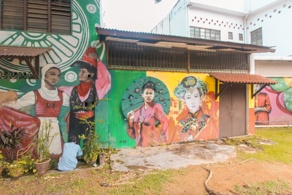 Street Art Melaka | Doen in Melaka | Dutch Square | Bezienswaardigheden Melakka | Melaka | Malakka | Malacca | Maleisië | Rondreis Maleisië | Zuidoost-Azië