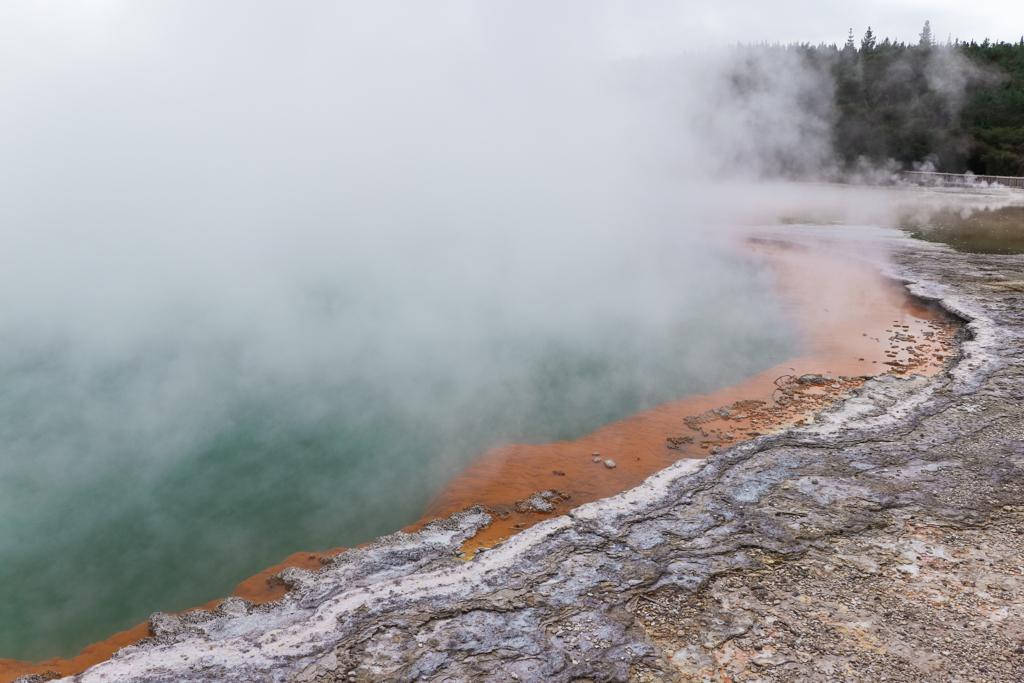 Wat te doen in Rotorua | Rotorua | Rotorua bezienswaardigheden | Wai-O-Tapu | Chemische poel