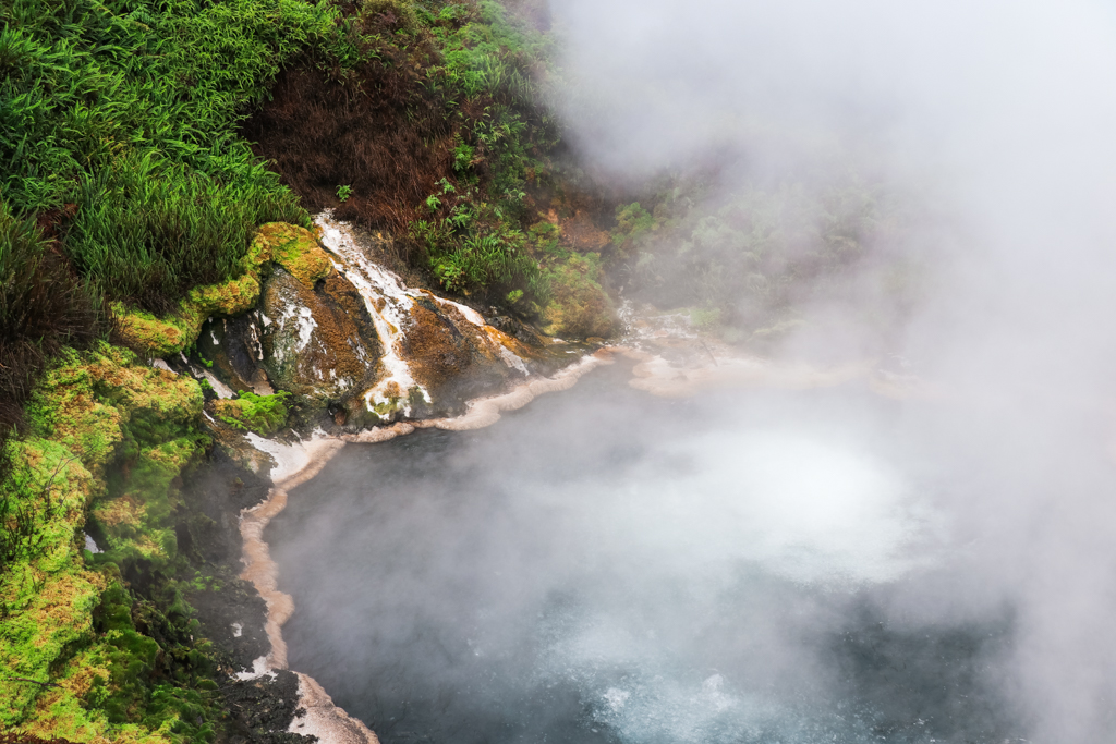 Waikite Valley Thermal Pools | Wai-O-Tapu | Rotorua | Nieuw-Zeeland | Noordereiland | Hotspring