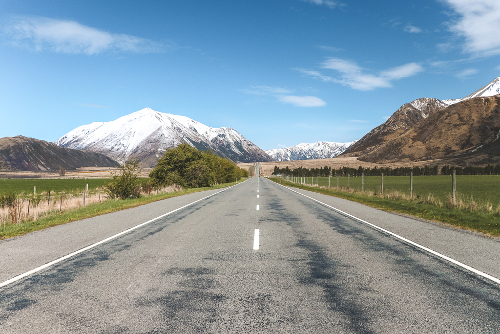 State Highway 73 Arthur's Pass is een indrukwekkende weg over de Southern Alps