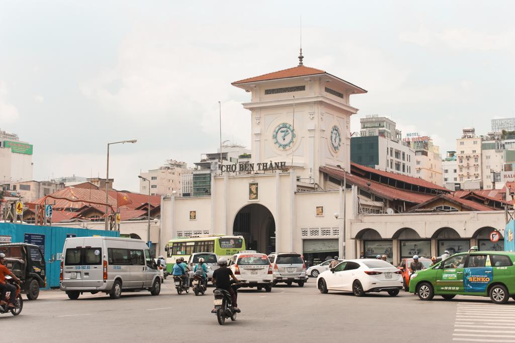 Ho Chi Minh City | Ben Thanh Market | Market Ho Chi Minh City | Saigon | Vietnam