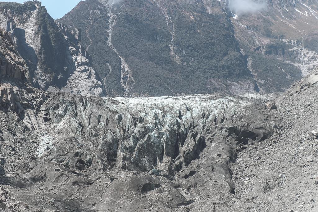 De Fox Glacier in 2018