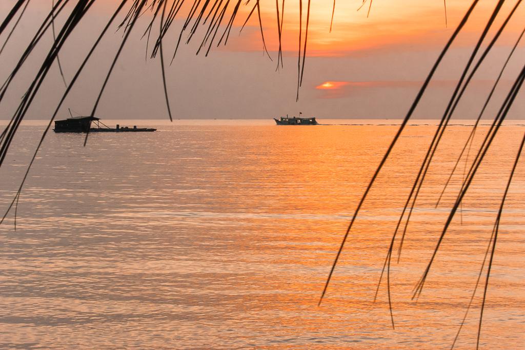 Zonsondergang Phu Quoc