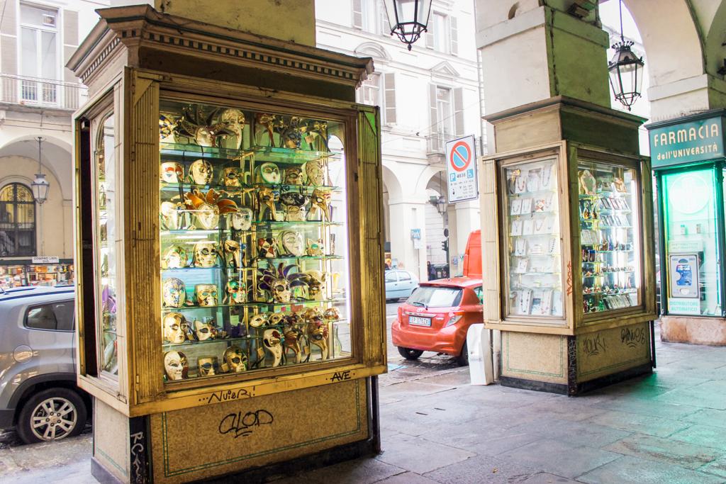 Via Po | Via Roma | Torino | Turijn | Italië | Straatkunst
