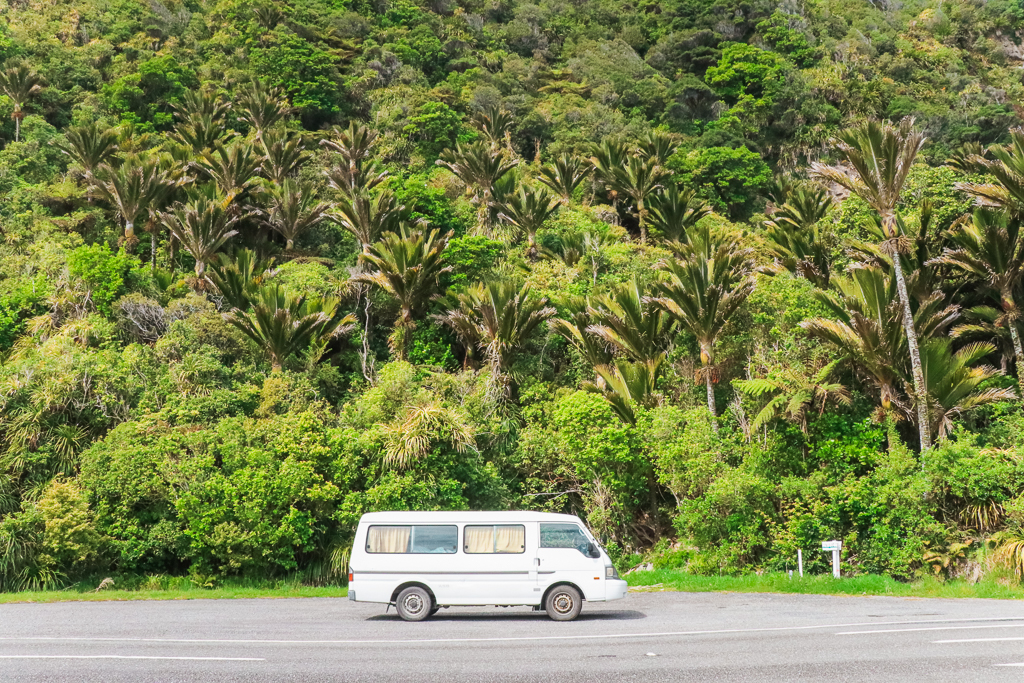 Driving around in New Zealand in your own van is such a great New Zealand adventure