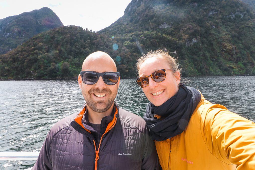 Op de boot bij Doubtful Sound